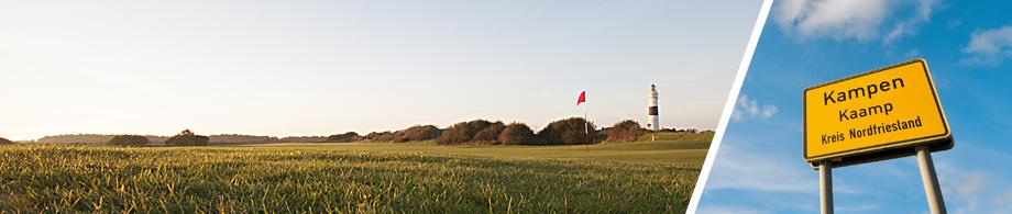 Traumhafte Unterkünfte für Ihren Golfurlaub auf Sylt